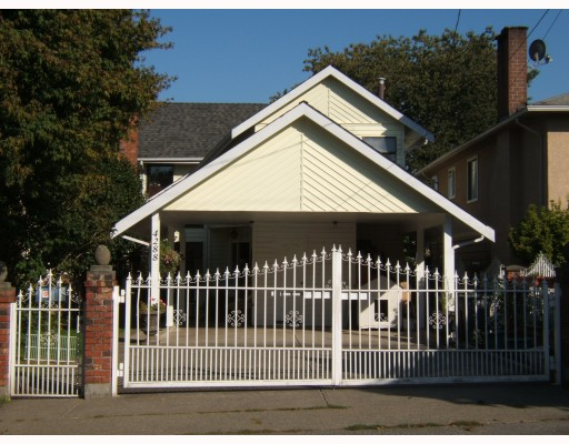 "Main Photo: 4288 WINDSOR Street in Vancouver: Fraser VE House for sale in ""FRASER"" (Vancouver East)  : MLS® # V788976"