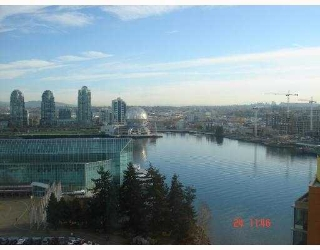 Main Photo: 1903 33 SMITHE Street in Vancouver: False Creek North Condo for sale in &quot;COOPER'S LOOKOUT&quot; (Vancouver West)  : MLS(r) # V758863