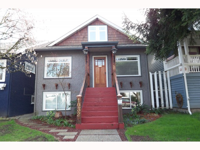 Main Photo: 1032 E 14TH Avenue in Vancouver: Mount Pleasant VE House for sale (Vancouver East)  : MLS® # V816736