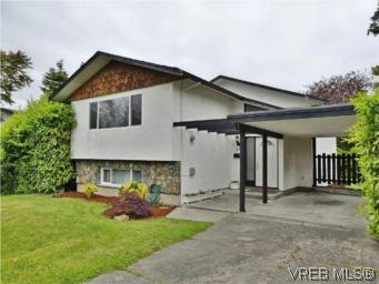 Main Photo: 1846 Chimo Place in VICTORIA: SE Lambrick Park Single Family Detached for sale (Saanich East)  : MLS(r) # 280467
