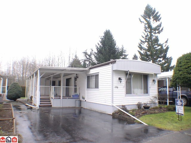 "Main Photo: 198 3665 244TH STREET Street in Langley: Otter District Manufactured Home for sale in ""Langely Grove Estates"" : MLS®# F1102945"