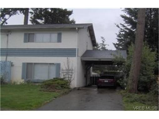 Main Photo: 2963 Adye Road in VICTORIA: Co Hatley Park Strata Duplex Unit for sale (Colwood)  : MLS® # 227158