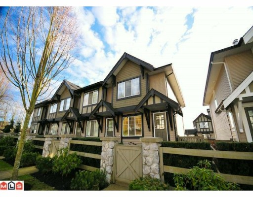 "Main Photo: 5 20176 68TH Avenue in Langley: Willoughby Heights Townhouse  in ""STEEPLECHASE"" : MLS(r) # F1002334"