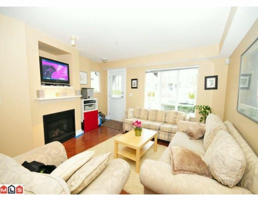 "Photo 2: 5 20176 68TH Avenue in Langley: Willoughby Heights Townhouse  in ""STEEPLECHASE"" : MLS(r) # F1002334"