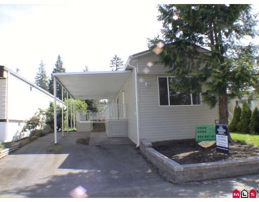 "Main Photo: 187 3665 244TH Street in Langley: Otter District Manufactured Home for sale in ""LANGLEY GROVE ESTATES"" : MLS®# F2908625"