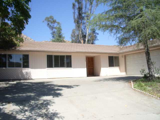 Main Photo: RAMONA House for sale : 3 bedrooms : 25940 Matlin Road