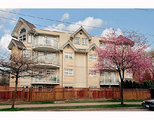 "Main Photo: 105 1515 E 6TH Avenue in Vancouver: Grandview VE Condo for sale in ""WOODLAND TERRACE"" (Vancouver East)  : MLS®# V745517"