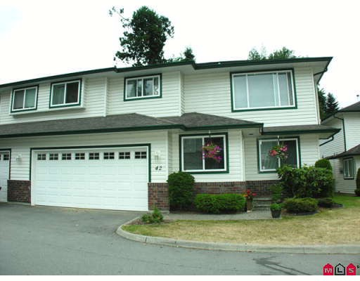 "Main Photo: 42 34250 HAZELWOOD Avenue in Abbotsford: Central Abbotsford Townhouse for sale in ""Still Creek"" : MLS® # F2900815"