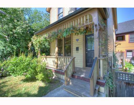 Photo 1: 728 JACKSON Avenue in Vancouver: Mount Pleasant VE House for sale (Vancouver East)  : MLS® # V777045