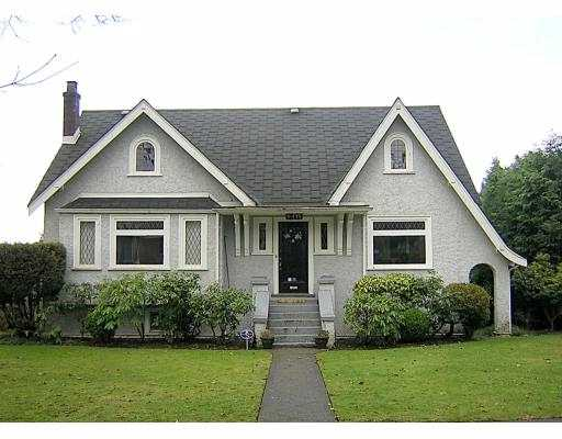 Main Photo: 6475 WILTSHIRE ST in Vancouver: South Granville House for sale (Vancouver West)  : MLS®# V569620