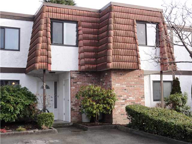 "Main Photo: 31 3171 SPRINGFIELD Drive in Richmond: Steveston North Townhouse for sale in ""SPRINGFIELD"" : MLS® # V864463"