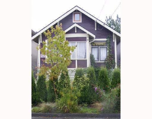 Main Photo: 82 E KING EDWARD Avenue in Vancouver: Main House for sale (Vancouver East)  : MLS® # V812539