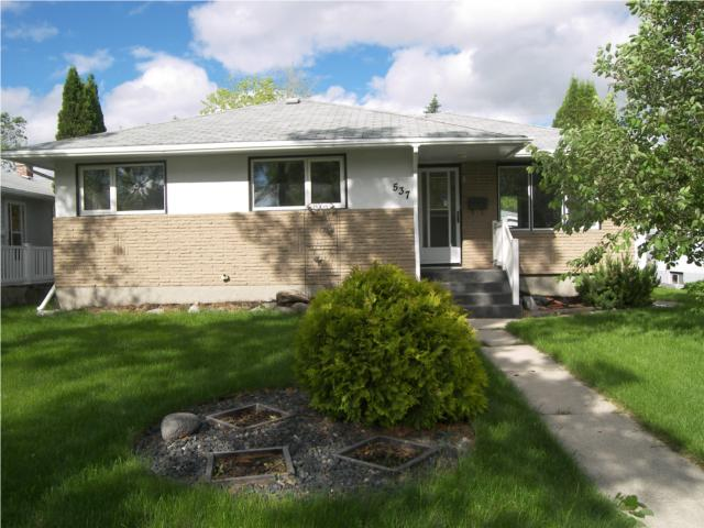 Main Photo: 537 Nathaniel Street in WINNIPEG: Manitoba Other Residential for sale : MLS® # 1010766