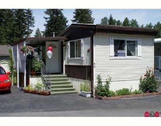 "Main Photo: 46 9080 198TH Street in Langley: Walnut Grove Manufactured Home for sale in ""FOREST GREEN ESTATES"" : MLS® # F2903962"