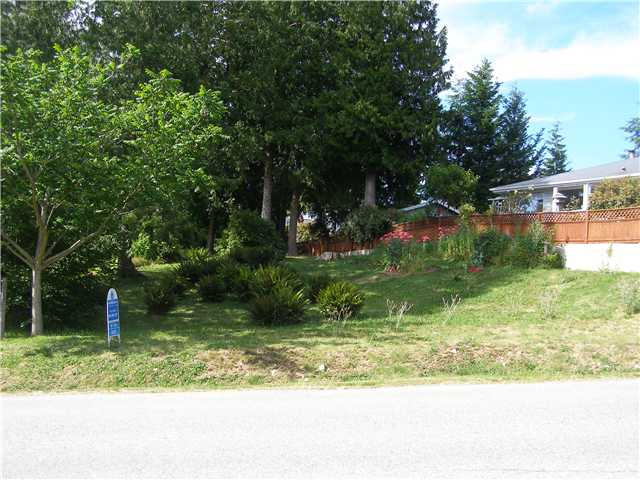 Main Photo: # LOT G HEATHER RD in Sechelt: Sechelt District Home for sale (Sunshine Coast)  : MLS®# V820849
