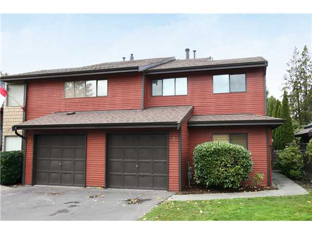 "Main Photo: 3 21550 CHERRINGTON Avenue in Maple Ridge: West Central Townhouse for sale in ""MAPLE RIDGE ESTATES"" : MLS® # V858808"