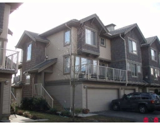 "Main Photo: 16 20761 DUNCAN Way in Langley: Langley City Townhouse for sale in ""WYNDHAM LANE"" : MLS® # F2903642"