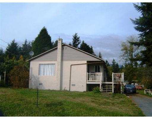 Main Photo: 1032 ROSAMUND RD in Gibsons: Gibsons & Area House for sale (Sunshine Coast)  : MLS® # V563003