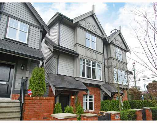 "Main Photo: 5633 WILLOW Street in Vancouver: Cambie Townhouse for sale in ""WILLOW"" (Vancouver West)  : MLS®# V756721"