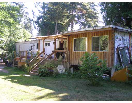 Main Photo: 990 CHASTER Road in Gibsons: Gibsons & Area Manufactured Home for sale (Sunshine Coast)  : MLS® # V774080
