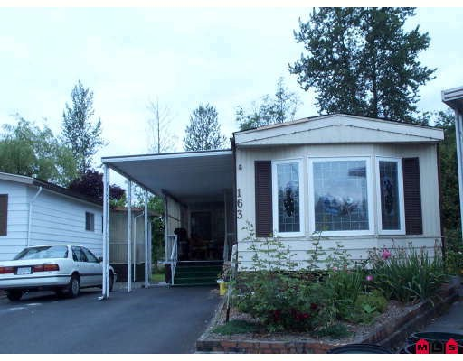 "Main Photo: 163 3665 244TH Street in Langley: Otter District Manufactured Home for sale in ""Langley Grove Estates"" : MLS(r) # F2819188"