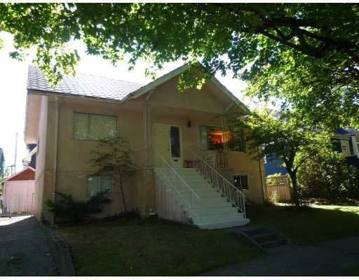 Main Photo: 280 E 24TH Avenue in Vancouver: Main House for sale (Vancouver East)  : MLS® # V789547