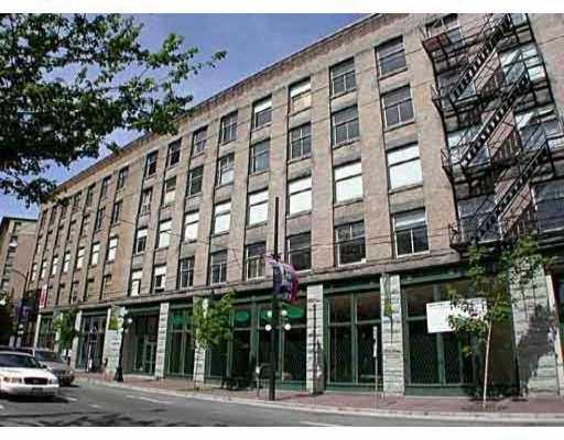 "Main Photo: 55 E CORDOVA Street in Vancouver: Downtown VE Condo for sale in ""KORET LOFTS"" (Vancouver East)  : MLS® # V627716"