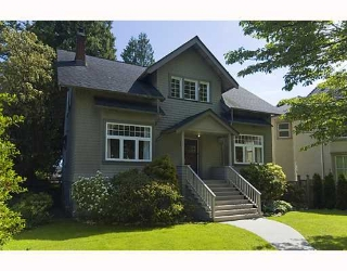 Main Photo: 4036 W 33RD Avenue in Vancouver: Dunbar House for sale (Vancouver West)  : MLS® # V769195