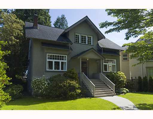Main Photo: 4036 W 33RD Avenue in Vancouver: Dunbar House for sale (Vancouver West)  : MLS(r) # V769195