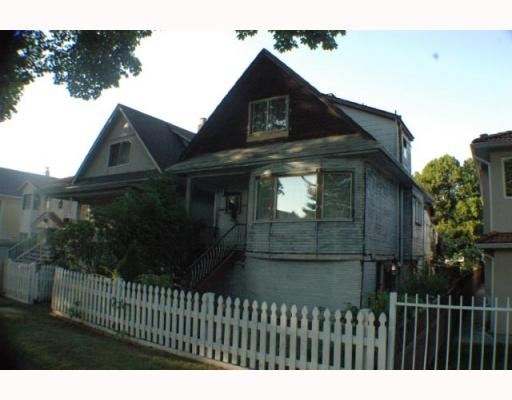 Main Photo: 1787 E 13TH Avenue in Vancouver: Grandview VE House for sale (Vancouver East)  : MLS(r) # V789803