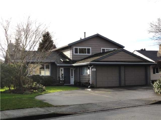 "Main Photo: 8540 ROSEHILL Drive in Richmond: South Arm House for sale in ""MONTROSE ESTATES"" : MLS(r) # V868780"