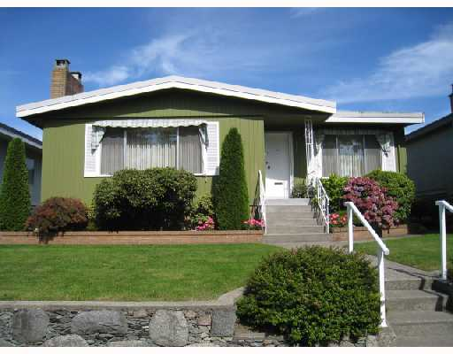 Main Photo: 2875 ROSEMONT Drive in Vancouver: Fraserview VE House for sale (Vancouver East)  : MLS® # V732917