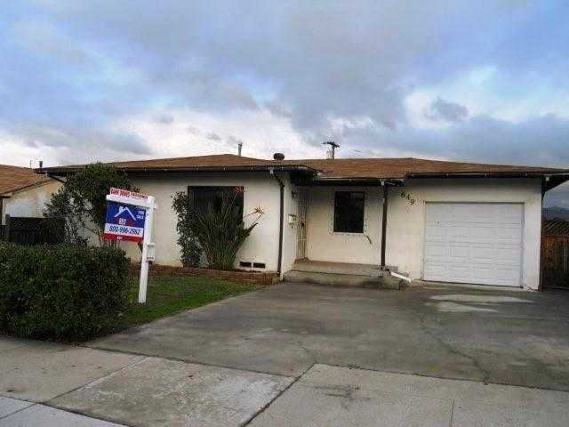 Main Photo: EL CAJON House for sale : 3 bedrooms : 649 El Monte