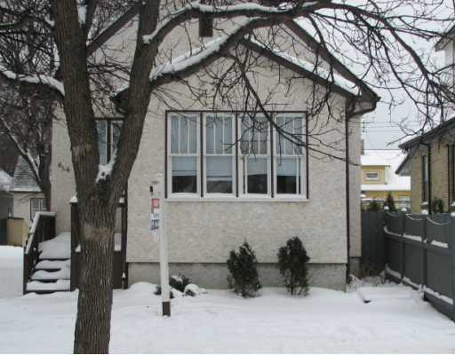 Main Photo: 606 ABERDEEN Avenue in WINNIPEG: North End Residential for sale (North West Winnipeg)  : MLS® # 2822762