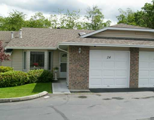 "Main Photo: 24 22308 124TH AV in Maple Ridge: West Central Townhouse for sale in ""BRANDY WYND"" : MLS® # V594865"
