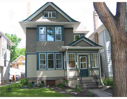 Main Photo: 175 LIPTON Street in WINNIPEG: West End / Wolseley Residential for sale (West Winnipeg)  : MLS®# 2912625