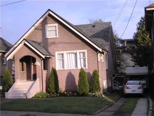 "Main Photo: 612 4TH Avenue in New Westminster: Uptown NW House for sale in ""UPTOWN"" : MLS® # V821394"