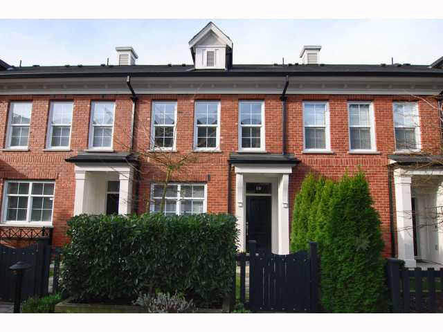 "Main Photo: 19 5812 TISDALL Street in Vancouver: Oakridge VW Townhouse for sale in ""TOWNE"" (Vancouver West)  : MLS® # V814625"