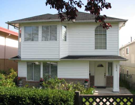 Main Photo: 5878 CHESTER Street in Vancouver: Fraser VE House for sale (Vancouver East)  : MLS®# V737428