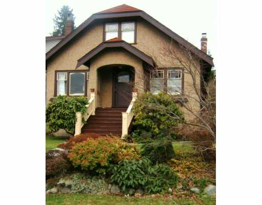 Main Photo: 3517 W 32ND Ave in Vancouver: Dunbar House for sale (Vancouver West)  : MLS® # V627816
