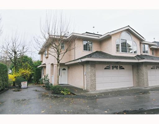 "Main Photo: 41 22488 116TH Avenue in Maple Ridge: East Central Townhouse for sale in ""RICHMOND HILL ESTATES"" : MLS® # V799040"