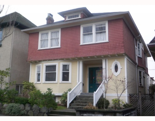 Main Photo: 1626 GRAVELEY Street in Vancouver: Grandview VE House for sale (Vancouver East)  : MLS®# V812126