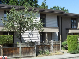 "Main Photo: 6 13755 102ND Avenue in Surrey: Whalley Townhouse for sale in ""THE MEADOWS"" (North Surrey)  : MLS® # F1023899"
