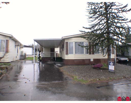"Main Photo: 136 3665 244TH Street in Langley: Otter District Manufactured Home for sale in ""LANGLEY GROVE ESTATES"" : MLS(r) # F2908124"