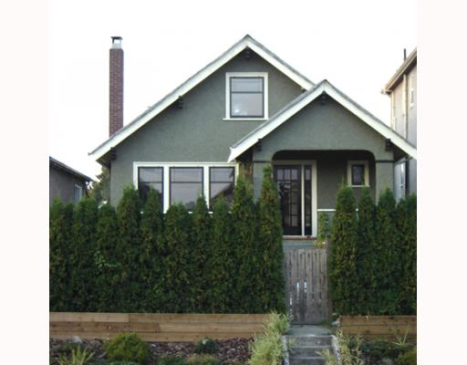Main Photo: 1051 E 12TH Avenue in Vancouver: Mount Pleasant VE House for sale (Vancouver East)  : MLS® # V806997