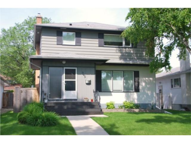 Main Photo: 745 NIAGARA Street in WINNIPEG: River Heights / Tuxedo / Linden Woods Residential for sale (South Winnipeg)  : MLS® # 1012243
