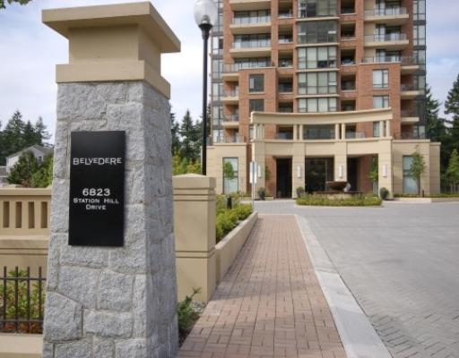 "Main Photo: 1204 6823 STATION HILL Drive in Burnaby: South Slope Condo for sale in ""BELVEDERE"" (Burnaby South)  : MLS® # V730800"
