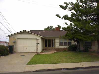 Main Photo: LA JOLLA Residential Rental for rent : 3 bedrooms : 5720 CHELSEA AVE