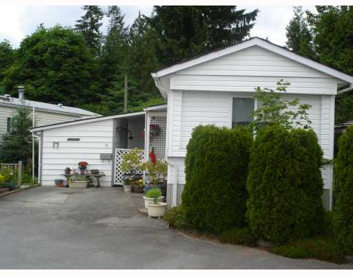 "Main Photo: 17 12868 229TH Street in Maple Ridge: East Central Manufactured Home for sale in ""ALOUETTE RETIREMENT MHP"" : MLS® # V770985"