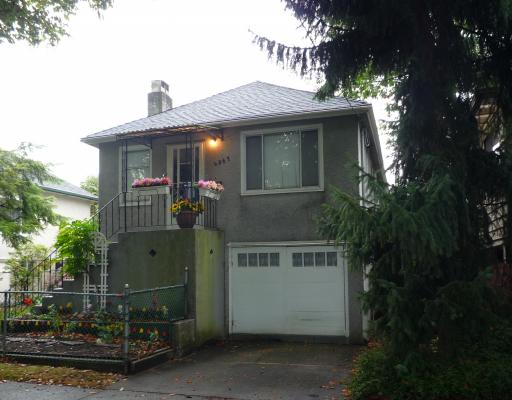 Main Photo: 4367 QUEBEC Street in Vancouver: Main House for sale (Vancouver East)  : MLS® # V790972